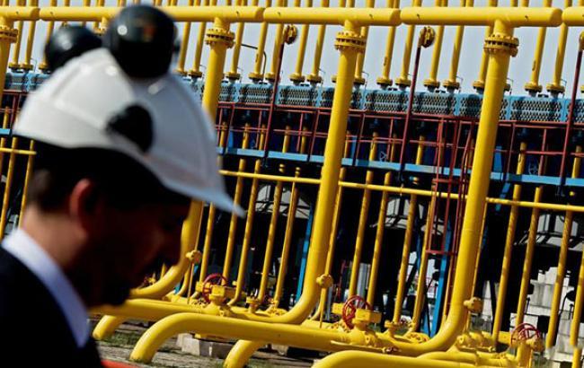 Кількість газу в ПСГ України скоротилося на 0,31% - до 15,455 млрд куб. м