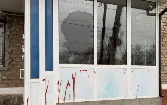 У Маріуполі пошкодили два офіси політичної партії