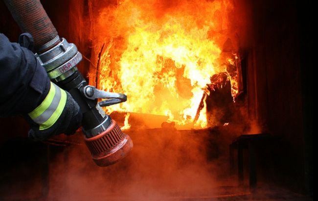 Фото: пожар в церкви