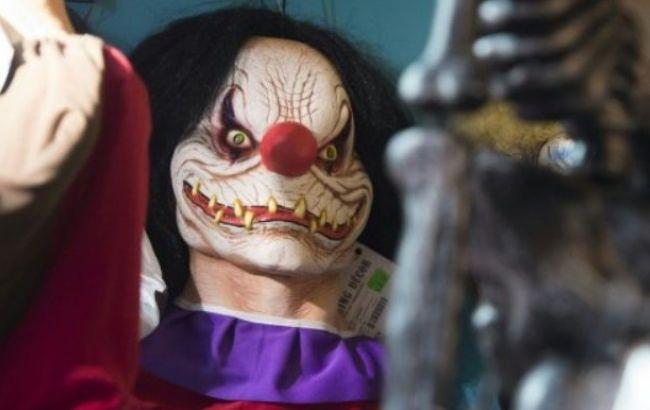 """Фото: """"злі клоуни"""" поранили кілька людей"""