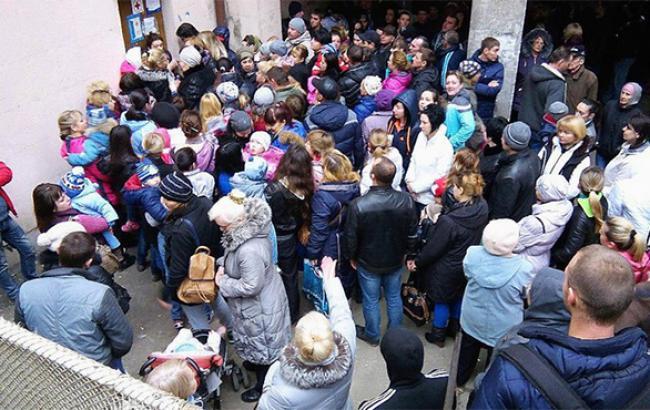 Из зоны АТО за сутки переселились 4 тыс. человек, - межведомственный штаб