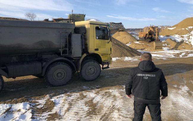 В Одесской области незаконно добыли песок на 100 млн гривен