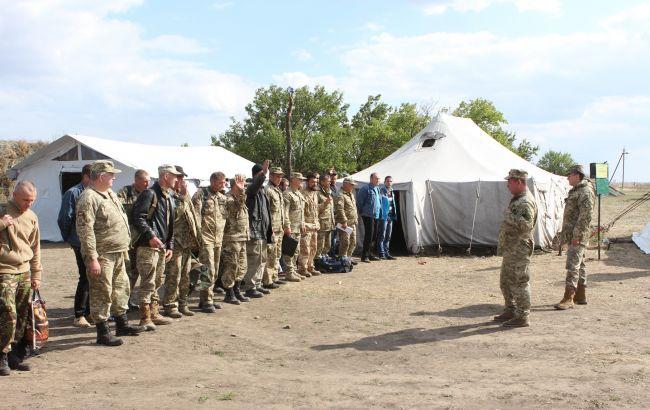 НаНиколаевщине начались учения резервистов сбоевыми стрельбами