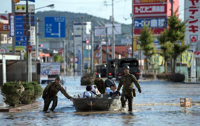 У Японії через стихійні лиха загинуло 347 людей