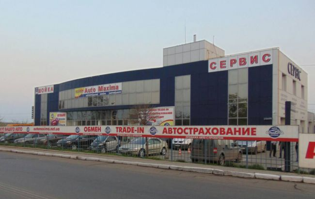 Фото: взрыв в автосалоне Николаева (НПУ)