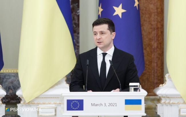 Зеленский хочет ПДЧ и назвал вступление в НАТО шансом завершить войну на Донбассе