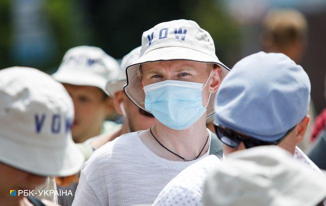 Две области Украины демонстрируют плохие показатели по госпитализациям с COVID-19