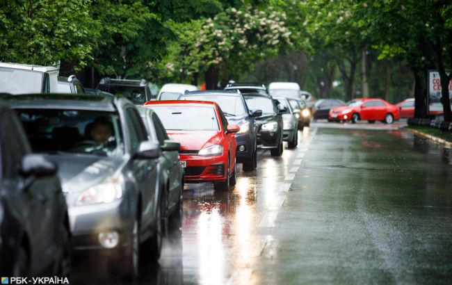 У Києві обмежать рух транспорту на кількох вулицях