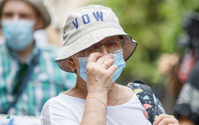 Пять областей Украины имеют плохие показатели по COVID-госпитализациям