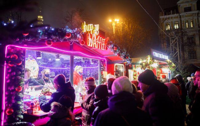 У Києві з 8 січня закриють новорічні локації