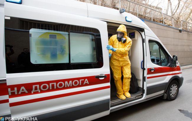 В четырех областях Украины больничные койки заполнены на более чем 70%
