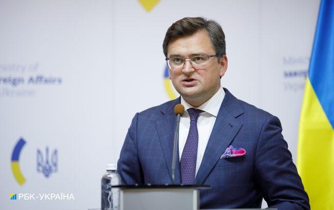 Кулеба: нужно усилить давление на Россию для деэскалации на Донбассе