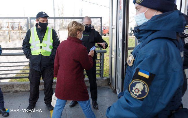 """За три дня """"красной"""" зоны в Харьковской области полиция обнаружила более 150 нарушений"""