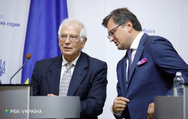 Кулеба поговорив з Боррелем перед його візитом в РФ. Порушив питання санкцій