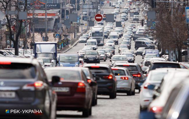 Центр Києва перекрито: карта об'їзду