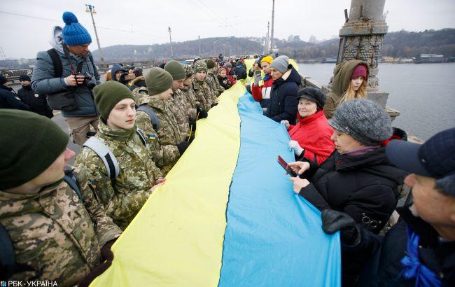 Украинцы сегодня отмечают День Соборности