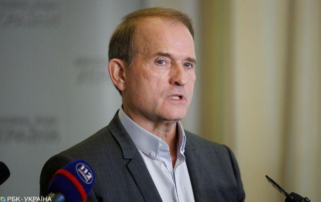 Зеленский подписал указ о санкциях против Медведчука