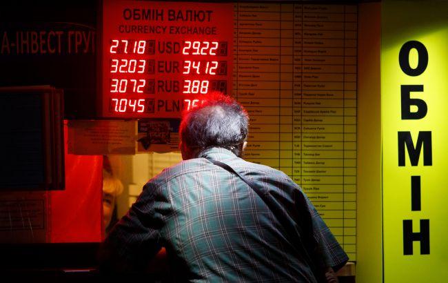 Бизнес ждет рост курса доллара до 29 гривен