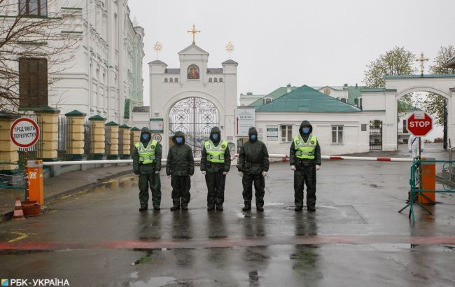 Вспышка COVID-19 в Киево-Печерской лавре: заразились еще 7 человек