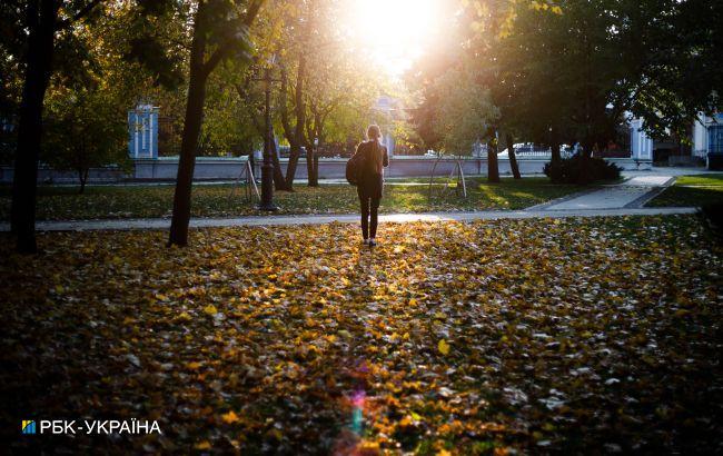 В Украине сегодня сохранится теплая и солнечная погода