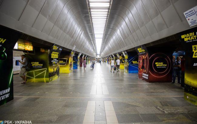 В Киеве 28 февраля возможны ограничения на трех центральных станциях метро