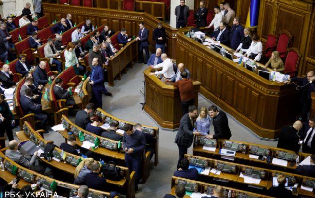 На дострокових виборах у Раду можуть пройти чотири партії