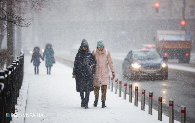 Вдарять морози і прилетить снігова злива: яким областях чекати негоди