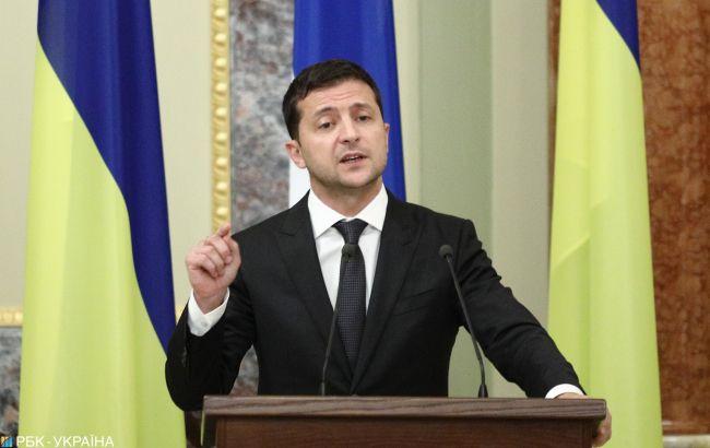 Зеленський назвав перші кроки на шляху до миру на Донбасі