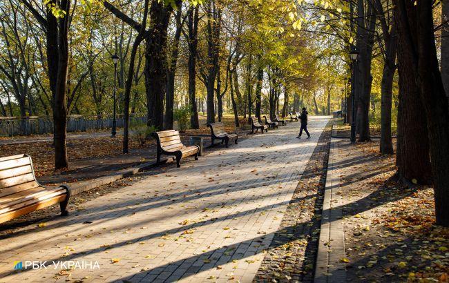 Метеорологическая осень пришла в Киев почти на месяц раньше, чем в прошлом году