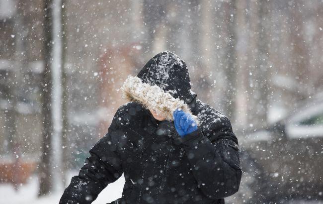 До 15 см снега и метель. В Украину пришло резкое похолодание
