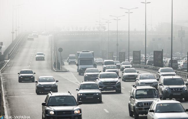 В Киеве объявили желтый уровень опасности из-за тумана