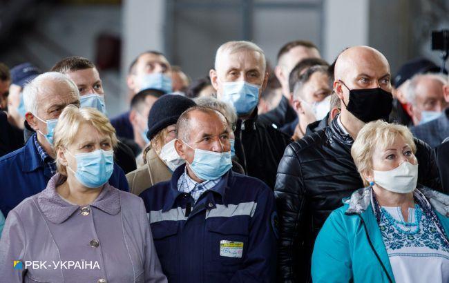 В Украине за сутки обнаружили менее 500 новых случаев COVID-19