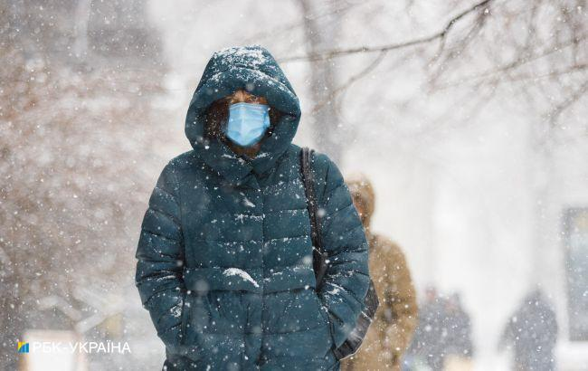 Снігодощі та міцні морози: синоптик дав прогноз на лютий
