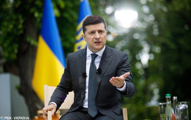 Рейтинг Зеленского упал до 35%