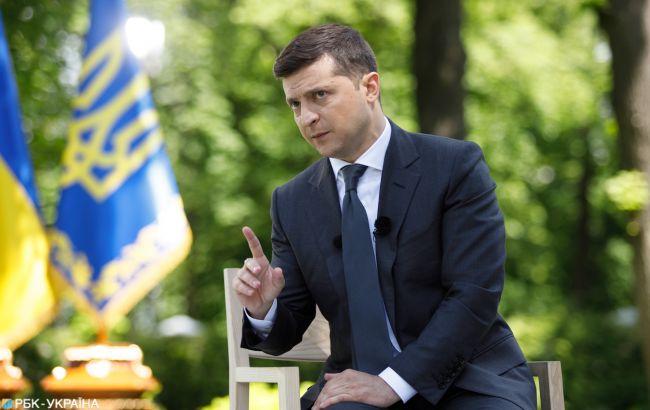 Зеленский анонсировал законопроект о восстановлении добропорядочности КСУ