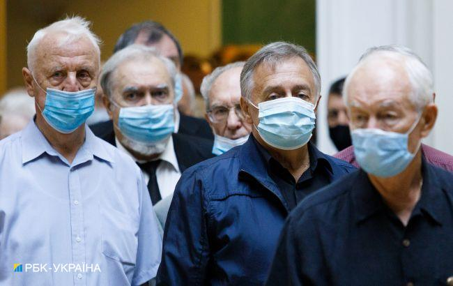 В Украине более 90% умерших от COVID-19 были старше 50 лет