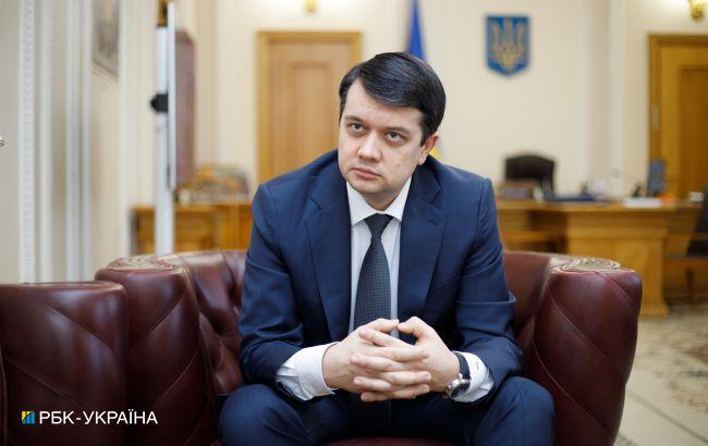 Отставки Степанова в ближайшее время не будет, - Разумков
