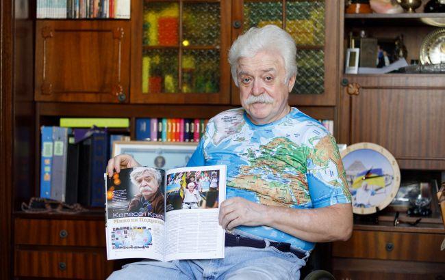 """""""Путешествия – это вся моя жизнь"""". Николай Подрезан побывал в 70 странах, в большинстве из них – на коляске"""