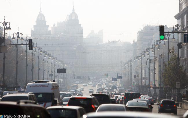 Якість повітря у Києві повернулась до норми