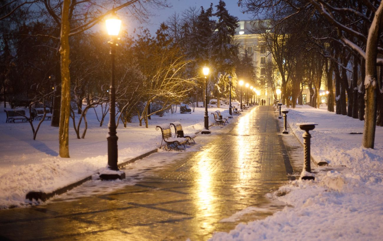 Похолодание в Украине продолжается: мороз до -26 и снег до 12 см