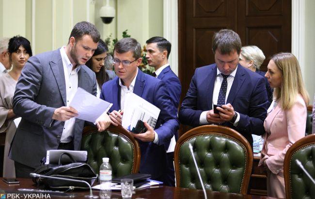 """У фракції """"Слуга народу"""" перепишуть закон про імперативний мандат"""