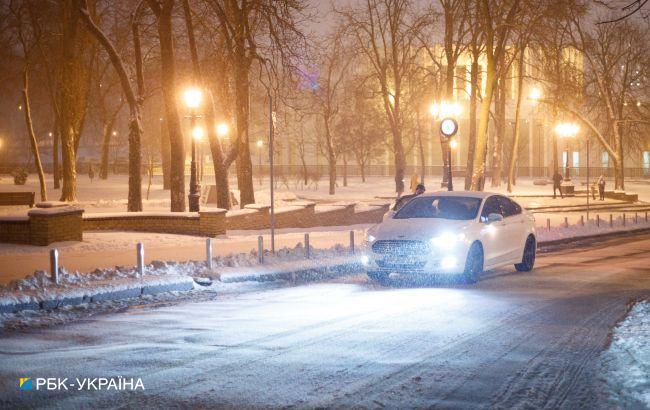 """В """"Укравтодоре"""" рассказали о состоянии проезда на дорогах госзначения"""