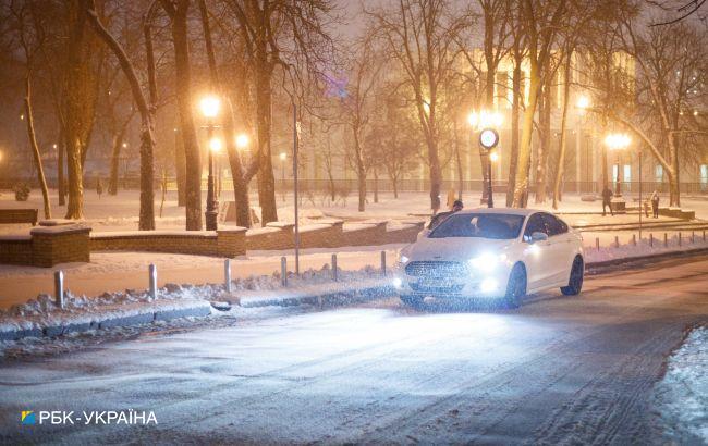 Будет два сложных дня: украинцев призвали не садиться за руль из-за непогоды