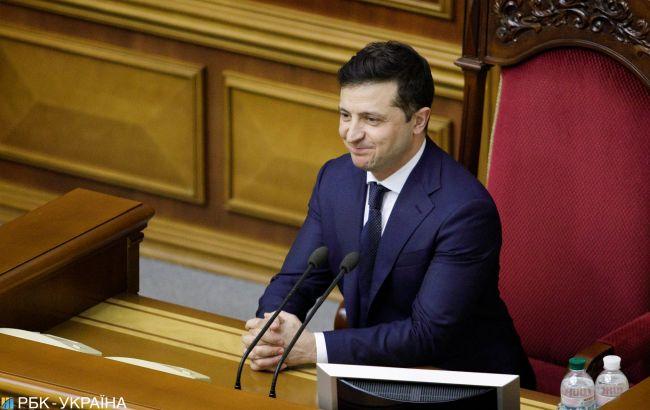 Закон Зеленского о большом гербе Украины появился в Раде