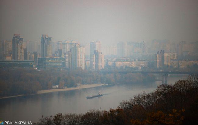 Уровень загрязнения воздуха в Киеве снизился до нормы