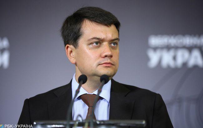 Из-за оккупантов: Разумков объяснил, зачем Украине нужен русский язык