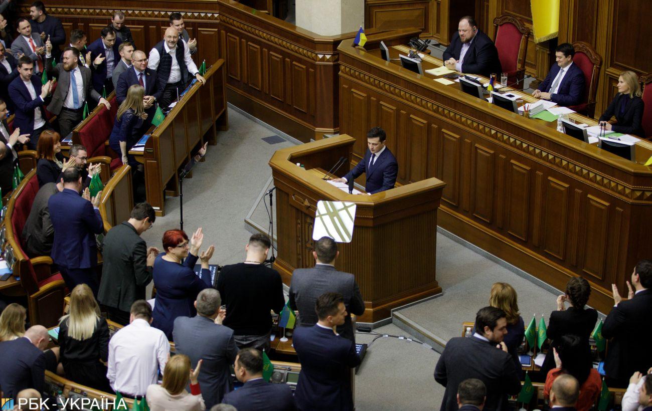 Рейтинг Зеленського впав до 40%
