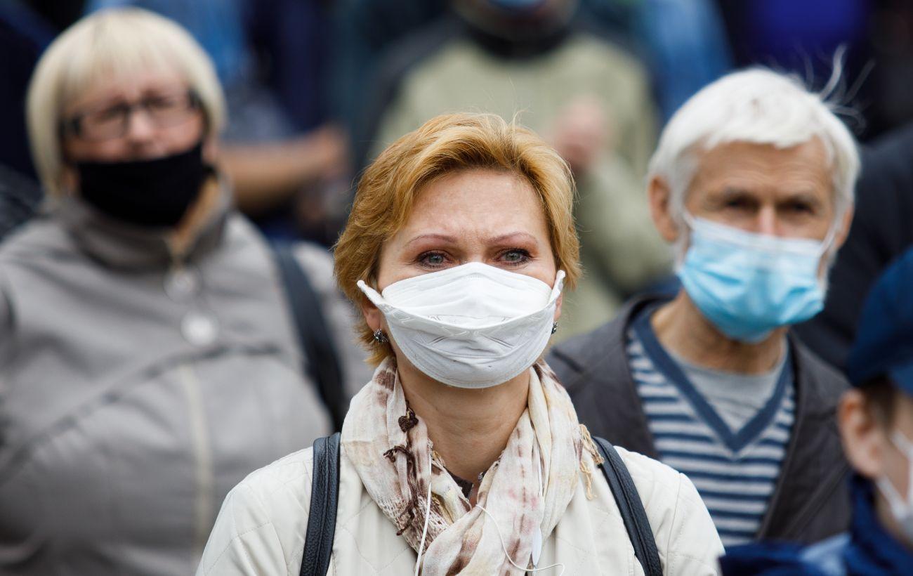 В Украине фиксируют спад новых случаев коронавируса