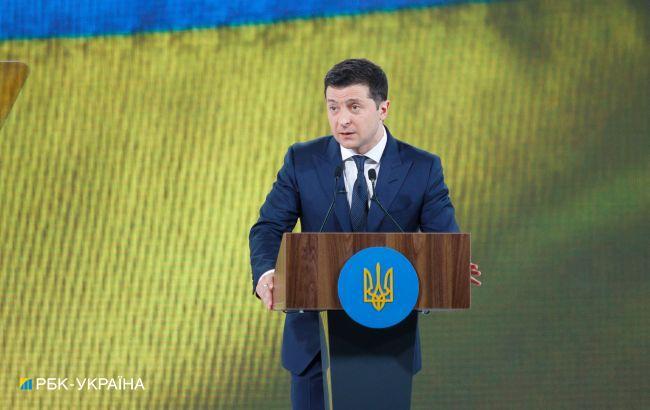 Зеленский начал визит в Молдову