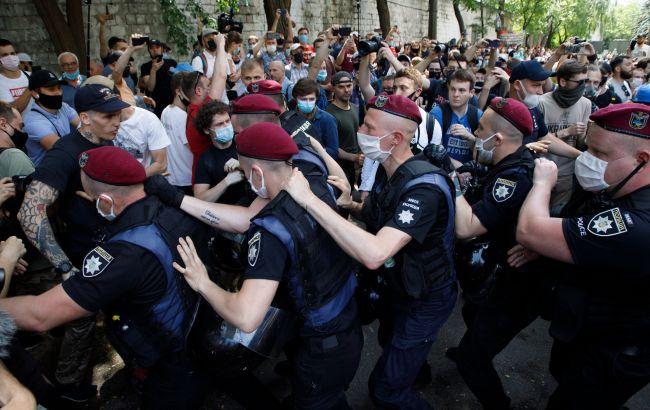 Затримання під судом по справі Стерненко: поліція призначила службове розслідування